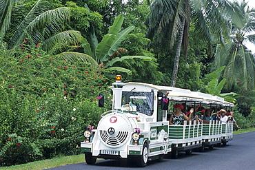Le Petit Train Tourist Transportation, Moorea, French Polynesia