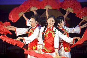 Cabaret Performance aboard MV Victoria Queen, Victoria Cruises, Yangtze River, China