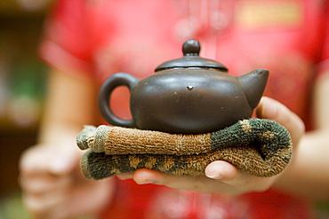 Chinese Tea Ceremony, Chongqing, China