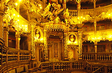 Europe, Germany, Bavaria, Bayreuth, Margravial Opera House