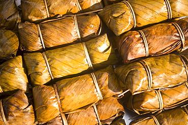 Thai food offered at Suan Chatuchak Weekend Market, Bangkok, Thailand