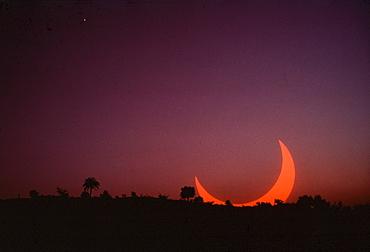 solar eclipse in Sudan