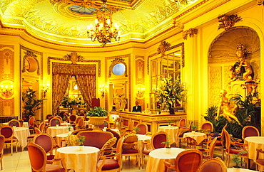 Europe, Great Britain, England, London, The Palm Court in the Ritz Hotel