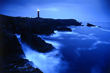 Butt of Lewis Lighthouse, Isle of Lewis, Outer Hebrides, Scotland, Great Britain