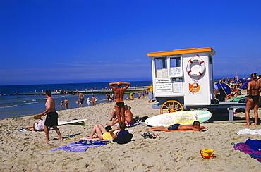 Beachlife, Westerland, Sylt Island, North Frisian Islands, Schleswig-Holstein, Germany, Europe