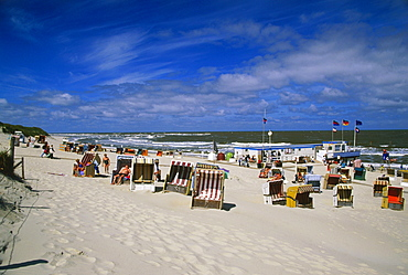 White dune, East Beach, Norderney, East Frisian Islands, Germany