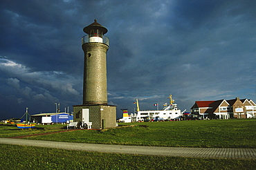 Lighthouse, Juist, East Frisia, Germany