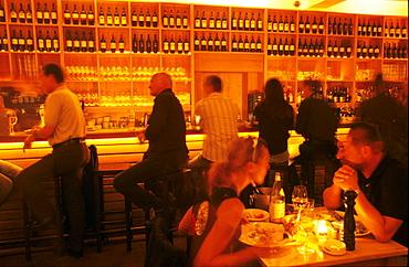 Hip Greek Restaurant Kytaro, Schwabing, Munich, Bavaria, Germany, Food, Entertainment
