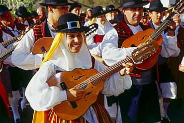 Fiesta del Carmen, Masa de Mar, Tenerife, Canary Islands, Spain