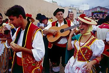 Costume celebration, Romeri·, La Orotava, Tenerife, Canary Islands, Spain