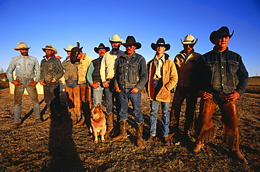 Cowboys Camp, LX Ranch, Panhandle, Texas, USA