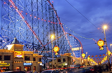 Europe, England, Lancashire, Blackpool, Pleasure Beach