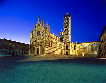 Cathedral, Siena, Tuscany, Italien