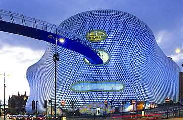 Europe, England, West Midlands, Birmingham, Selfridges Shopping Temple