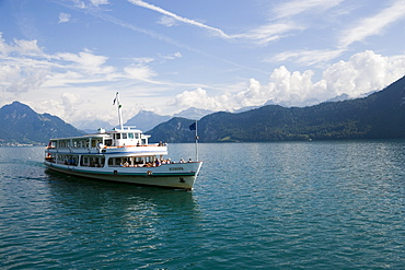 MS Europa on Lake Lucerne, Switzerland