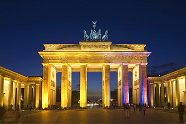 Brandenburg Gate, Pariser Platz, Berlin