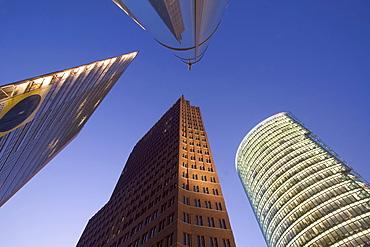 Modern architecture, Potsdamer Platz, Berlin