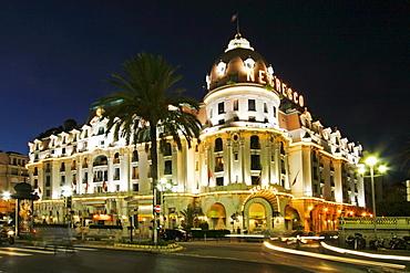 France, Nice, Promena s Anglais, Hotel Negresco