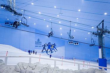 Dubai Mall of Emirates Ski dubai, Indoor skiing