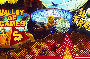 USA, Nevada, Las Vegas, Valley of Games