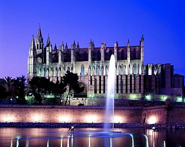 Cathedral, Palma, Mallorca, Baleares, Spain