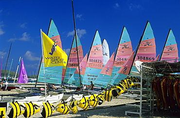 Europe, Spain, Majorca, Port de Pollenca, on the beach