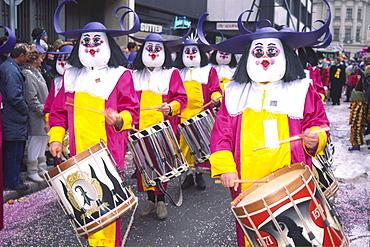 Carnival, Fasnacht, Basel, Switzerland