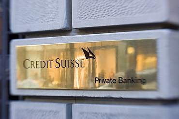 Switzerland, Zuerich, credit suisse