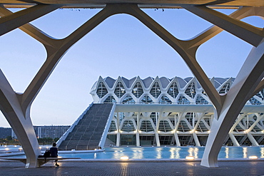 Museo de las Ciencias Principe Felipe, Valencia, Spain