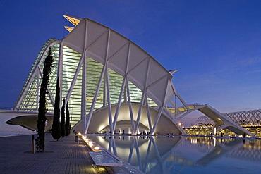 City of Arts and Sciences, Science Museum, architect Calatrava, Valencia, Spain