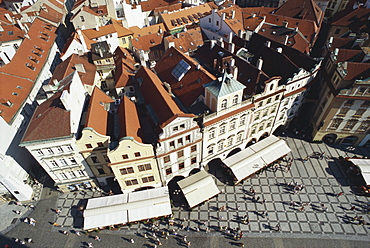 South side of the old Town Hall, Prague, Czech Republic
