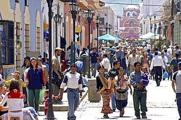 Streetlife in San Chistobal de las Casas, Chiapas, Mexico