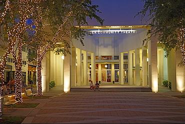 Sugden Community theatre on 5th Avenue, Naples, Florida, USA