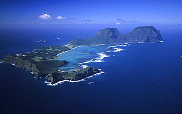 Lord Howe Island, Aerial photo of Lord Howe Island