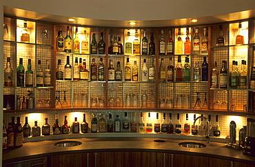 The bar at the luxurious island resort, Bedarra Island, Great Barrier Reef, Australia