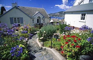 The historic suburb of Battery Point, Hobart, Tasmania, Australia