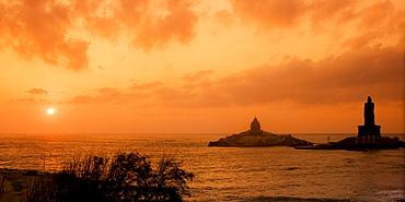 South India Tamil Nadu Kanyakumari Thiruvalluvar statue