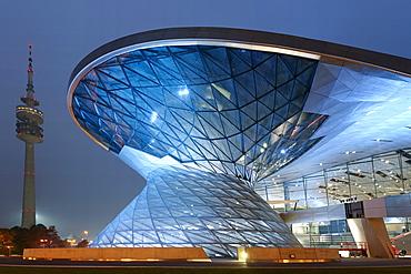 Bavaria Munich BMW World new distribution center TV tower