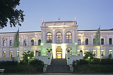 casino, Bad Harzburg, Harz mountains, Lower Saxony, northern Germany