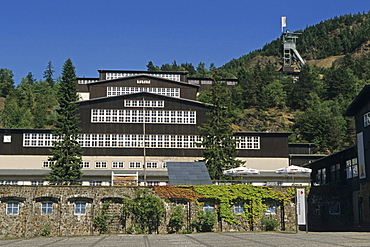 Rammelsberg mining museum, Goslar, Harz Mountains, Lower Saxony, northern Germany, UNESCO, World Heritage Site, list