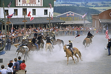 Pullman City, western show, Hasselfelde, Harz Mountains, Saxony Anhalt, Germany