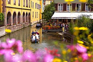 Little Venice, La Petite Venise, Colmar, Alsace, France