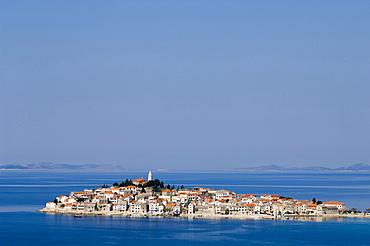 Village of Primosten on the Adriatic Coast, Croatia