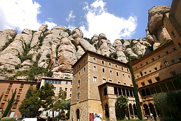 Montserrat Monastery and Benedictine Abbey, Catalonia, Spain