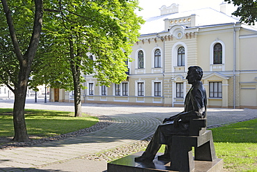 Historical presidential palace in Kaunas, Lithuania