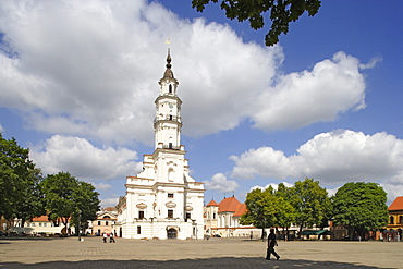 Kaunas town hall (also called the white swan), Lithuania