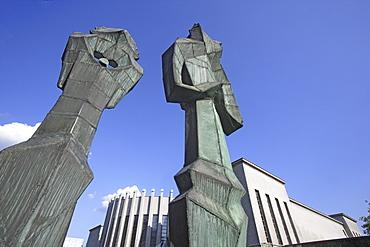 Mikalojus Konstantinas Ciurliouis art museum in Kaunas, Lithuania