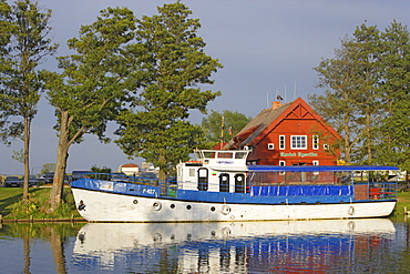 Minja, also called the small Venice of Lithuania is situated in the Nemunas delta, Lithuania