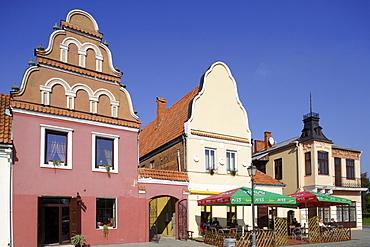 Town square in Kedainiai, Lithuania
