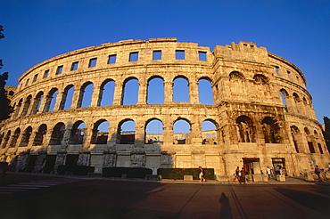 Sixth largest Amphitheater in the world, Pula, Istria, Croatia